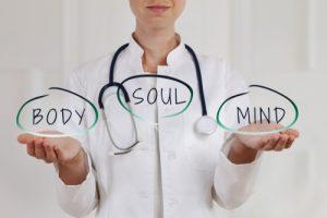 Holistic Medicine attempts to balance the mind, body, soul